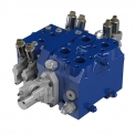 Hydrocontrol EX SERIES: Load-Sensing Flow-Sharing sectional valves - The range of Load sensing Flow-Sharing sectional valves EX Series by Hydrocontrol is composed by four sizes: EX38, EX46, EX54, EX72.<br />