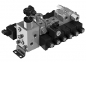 New SDE directional control valves with direct acting solenoid - The Walvoil range of directional control valves with direct acting solenoid has been implemented through the new SDE030 series, that, thanks to high reliability under all conditions of use and to a competitive cost, offers particularly suitable solutions to the agricultural sector.
