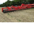Tip-Roller XL: - New 12m30 Roller 5 Hanging sections - Hydraulic Folding Horizontally with SAT SYSTEM - Hydraulic Folding horizontally - Long Finger Harrow in front or Spring Board.