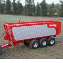 Push-off trailer - BR push-off trailer from 30 to 50 m³,compact and innovative.