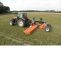PERFECT RX-620 flail shredder - PERFECT RX-620: trailed flail mower with two heavy-duty flail mowers, 6.2 m working widht. Very high capacity, for tractors from 150hp!