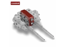 WALVOIL SXP: innovative directional valve for Front Loaders and other lifting applications. - Its main feature is that of moving from a series to a parallel circuit functionality every time it is required by the working conditions.<br /><br />