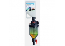 easyFlow M closed transfer system - Contamination-avoiding and self-cleaning transfer system