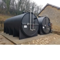 HDPE double wall - tank for the storage of liquid fertilizer