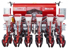 ADJUSTABLE ROW SPACE PRECISION PLANTER - Possible to use on 45, 50, 55, 60, 65, 70 and 75 cm Row Space.