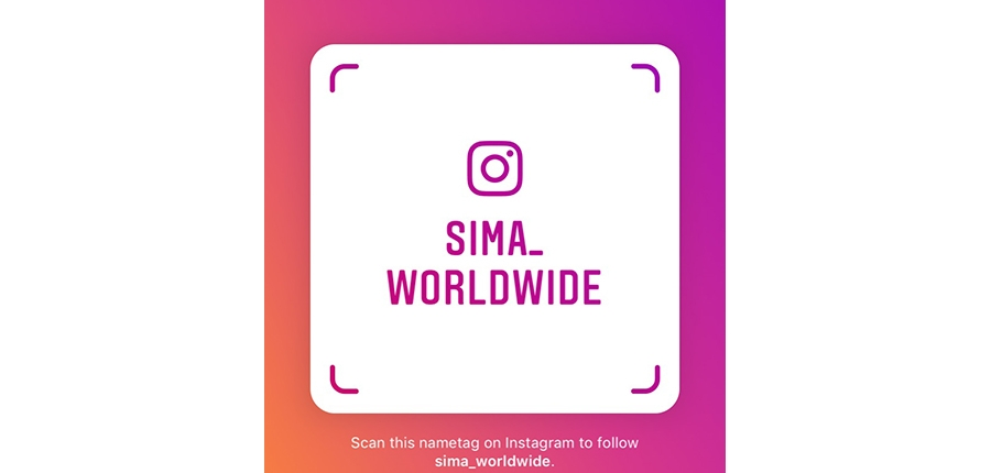SIMA is now active on Instagram