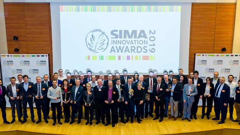 Photo lauréats des SIMA Innovation Awards 2019