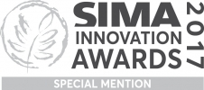 Logo special mention SIMA Innovation Awards