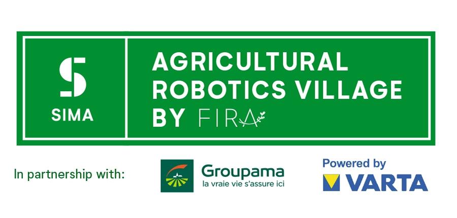 Logo of agricultural robotics village