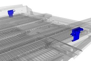 New Holland Agriculture - Capteur de pression du caisson de nettoyage