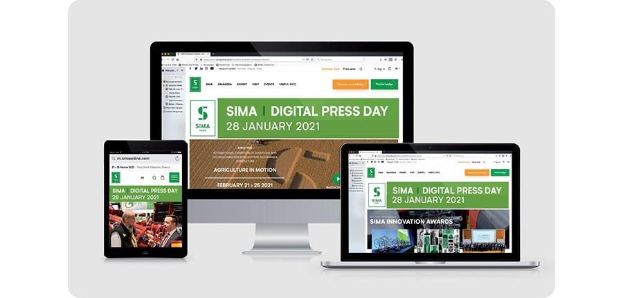SIMA Digital Press Day