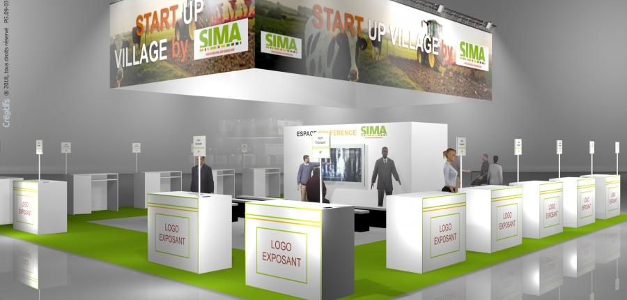 Village start-up du SIMA 2019