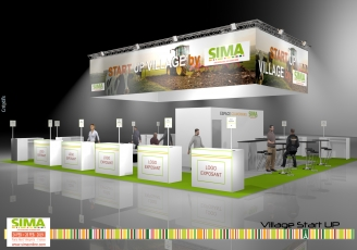 Village start-up du SIMA 2019